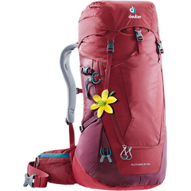 Deuter W's Futura 24 SL Backpack cranberry-maron